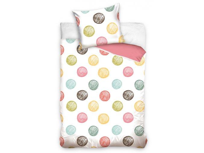 Bavlnene povleceni Color Dots