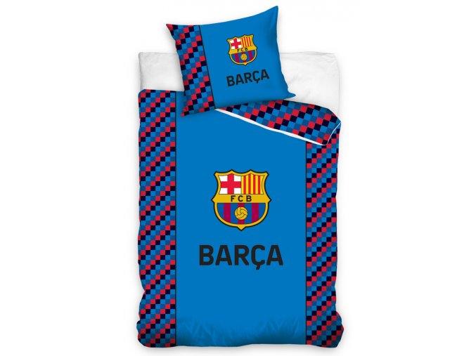 Fotbalove povleceni FC Barcelona Small Cubes