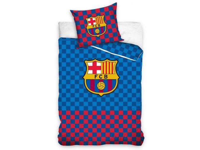 Fotbalove povleceni FC Barcelona Chessboard