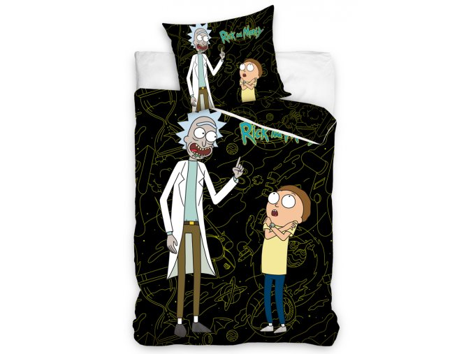 Bavlnene povleceni Rick and Morty