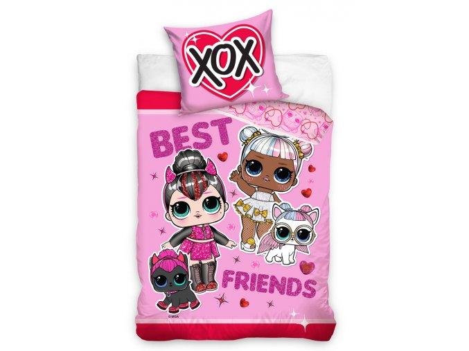 Detske povleceni LOL Surprise Best Friends