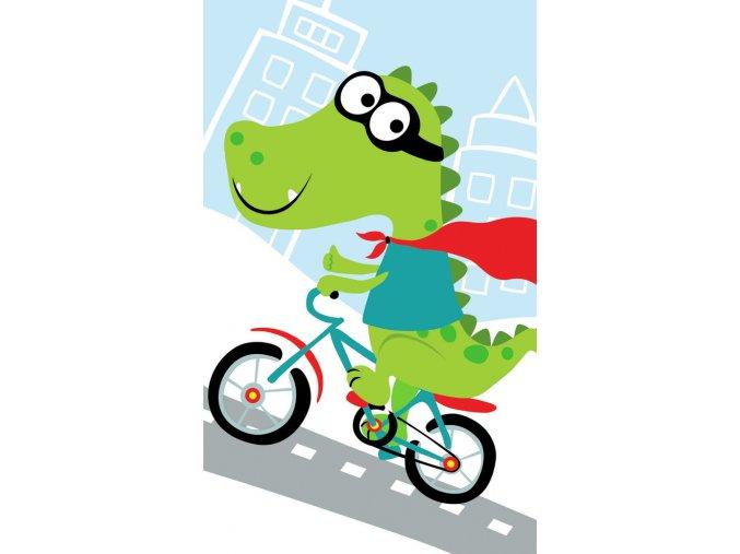 Frote rucnicek 30x50 Krokodyl na kole