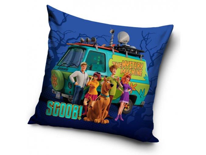 Detsky polstarek Scooby Doo Mystery Machine 40x40 cm