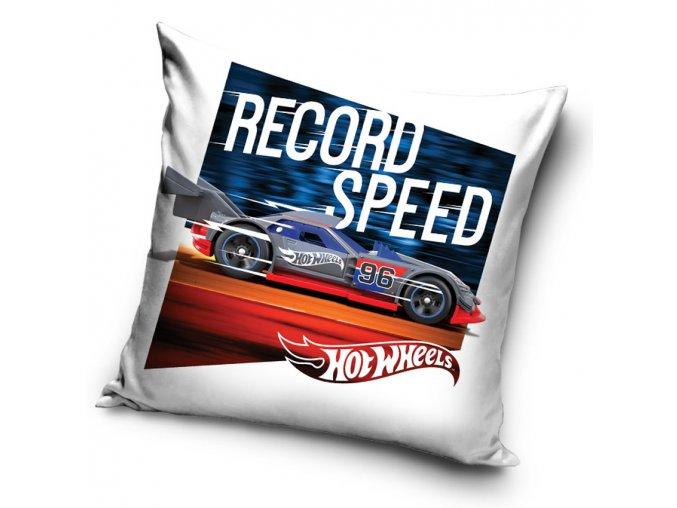 povlak na polstarek Hot Wheels Rekordni Rychlost 40x40