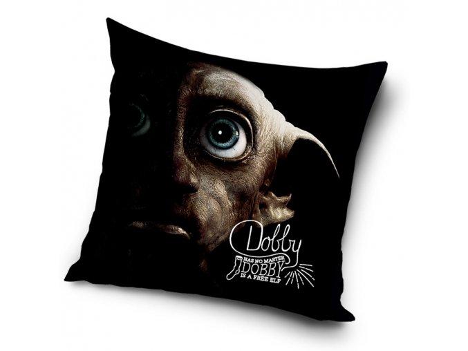 Detsky polstarek Harry Potter Skritek Dobby 40x40cm