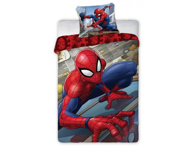 Detske povleceni Spider Man Vysoko nad zemi Spider Man 039