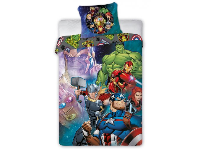 Detske povleceni Avengers Thanos Avengers