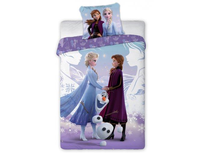 Detske povleceni Ledove Kralovstvi Anna Elsa a Olaf