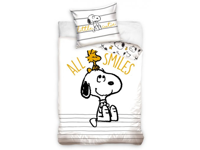 Detske povleceni Snoopy All Smiles