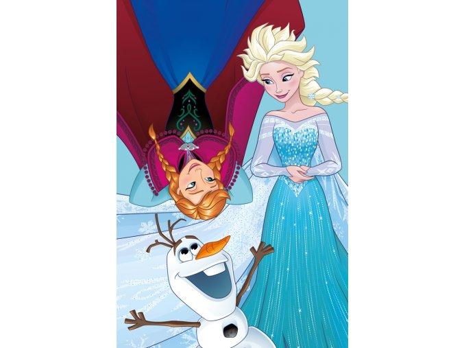 Detsky rucnicek Ledove Kralovstvi Anna Elsa a Olaf 40x60