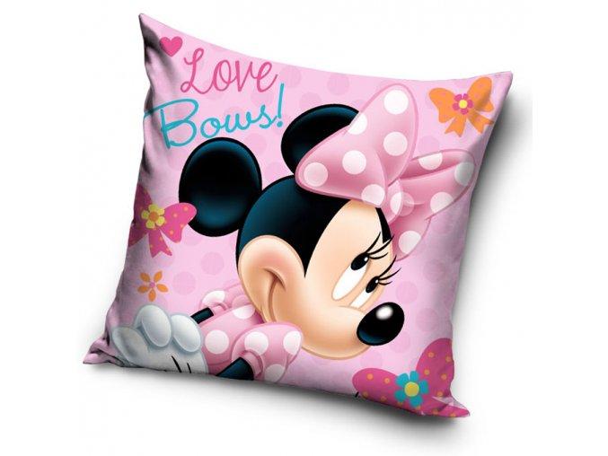 Detsky polstarek Minnie Love Bows