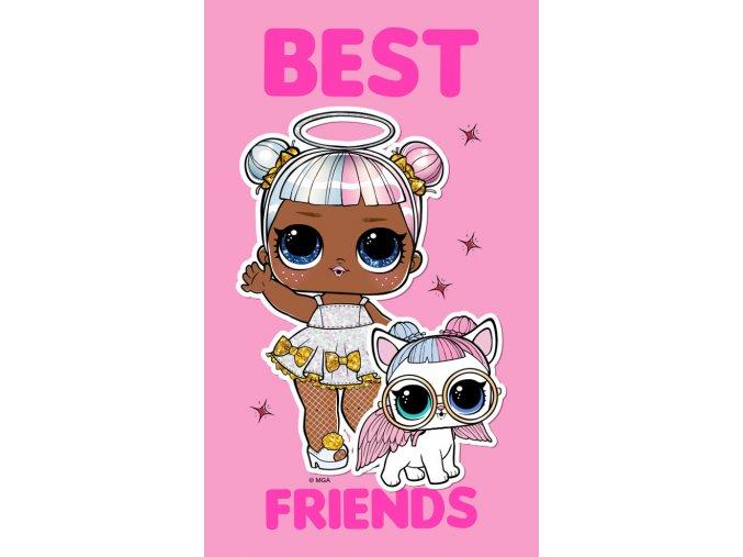 Detsky rucnicek LOL Best Friends 30x50 LOL191070