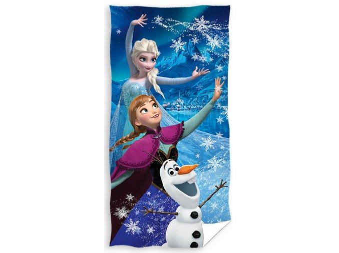 Detska osuska Frozen Anna Elza a Olaf
