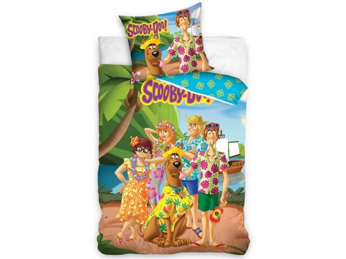 Detske povleceni Scooby Doo Dovolena na Havaji