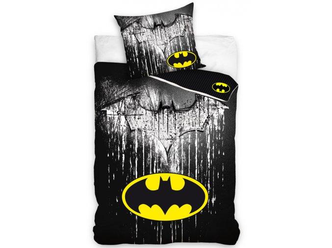 Detske povleceni Batman Steel Logo