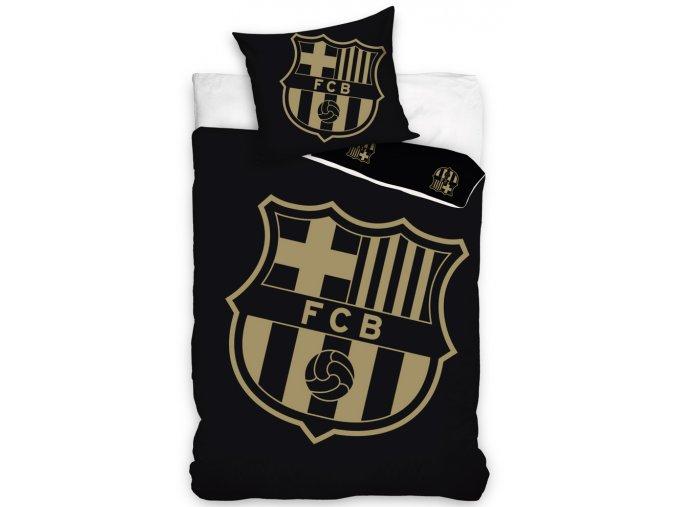Fotbalove povleceni FC Barcelona Gradient Black
