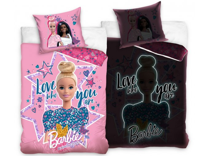 Svitici povleceni Barbie Be Cool Glow