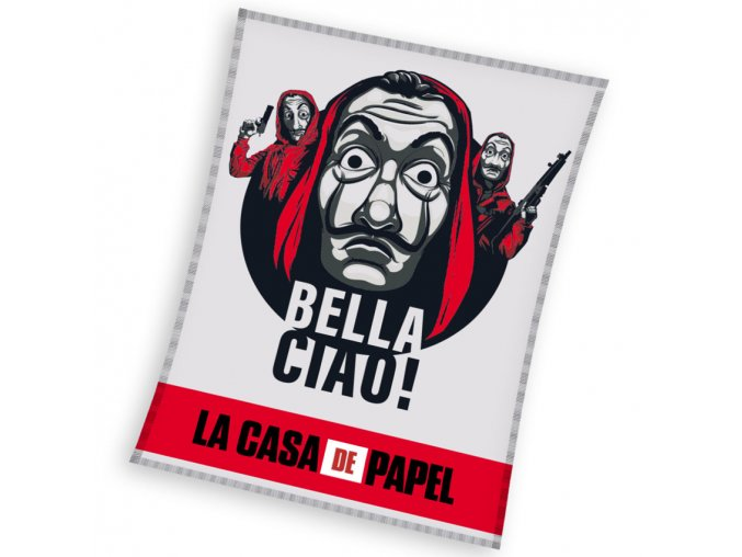 Deka Papirovy Dum Bella Ciao