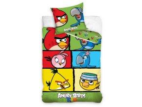 Dětské povlečení Angry Birds Check