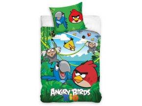Dětské povlečení Angry Birds Jungle