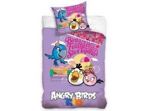 Dětské povlečení Angry Birds Friends