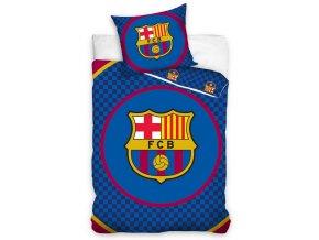 Fotbalové povlečení FC Barcelona Circle