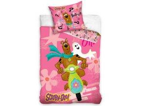 Dětské povlečení Scooby Doo Pink
