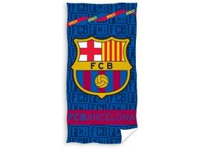 Fotbalová osuška FC Barcelona Letters
