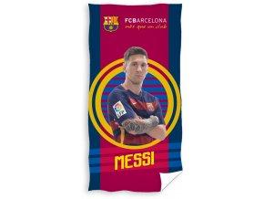 Fotbalová osuška FC Barcelona Messi 2016