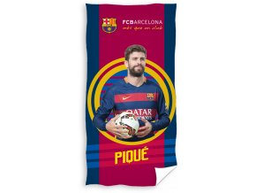 Fotbalová osuška FC Barcelona Pique 2016