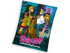 Dětská deka Scooby Doo Mystery