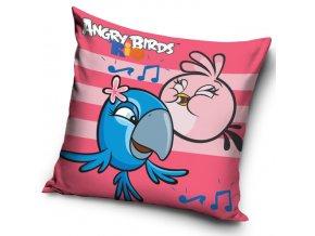 Polštářek Angry Birds Rose Stripes