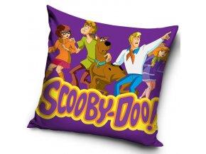 Povlak na polštářek Scooby Doo Fialový