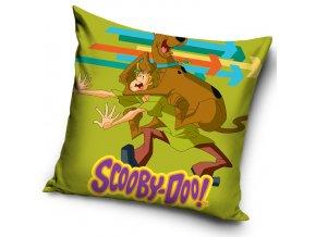 Polštářek Scooby Doo Zelený