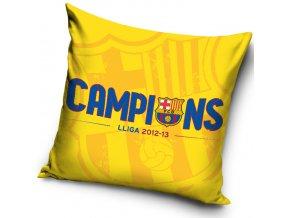 Polštářek FC Barcelona Campions