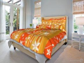 Krepové povlečení Gambi - Oranžové