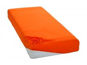 Jersey prostěradlo Oranžové BedTex