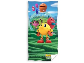Dětská osuška Pac-Man - Bludiště