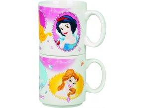 Hrnky Princess porcelánové 2 ks