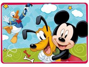 Velká podložka na stůl 3D - Mickey