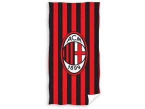 Fotbalová osuška AC Milán Stripes