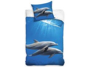 Povlečení Delfíni