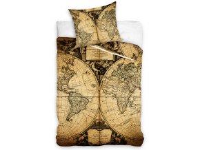 Povlečení Mapa Světa