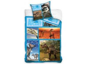 Bavlněné povlečení Animal Planet - Dinosauři