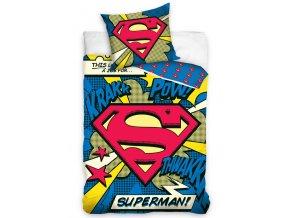 Dětské povlečení Superman Komiks