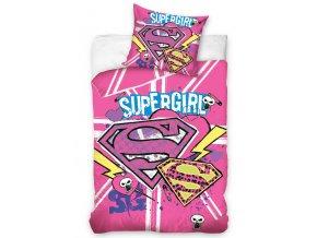 Dětské povlečení Supergirl