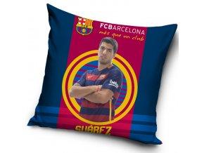 Polštářek FC Barcelona Suárez 2016