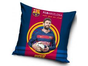 Polštářek FC Barcelona Piqué 2016