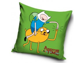 Polštářek Adventure Time - Finn a Jake