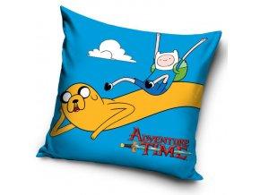 Polštářek Adventure Time - Modrý